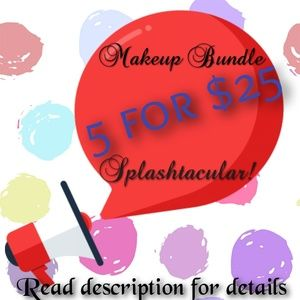 5 for 25 makeup bundles.